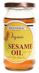 Sesame Oil  175 Ml-Khandige