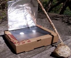 Solar Cooker-Active Hand