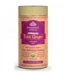 Tulsi Ginger Tea 100 Gms Tin-Organic India