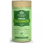Tulsi Gree Tea Tin 100 Gms-Organic India