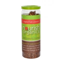 Apple Flax Crunch 100 Gms-Nourish