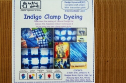 Indigo Clamp Dyeing Kit-Active Hand