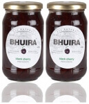 Black Cherry Preserve 470 Gms-Bhuira