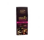 Stevia Roasted Almonds Chocolate 40 Gms-Zevic