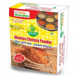 Dhaniya Chutney Powder  90 Gms - Gau Naturals