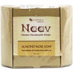 Almond Rose Soap 100 Gms-Neev Herbal