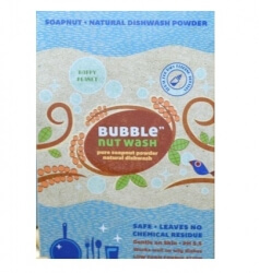 Pure Soapnut Natural Dishwash Powder 250 Gms -Bubble Nut