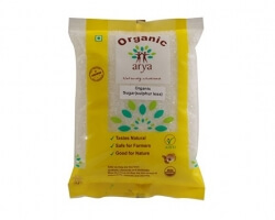 Organic Sulphur Less Sugar  500 Gms - Arya