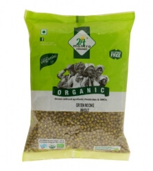 Green Moong Whole 500 Gms- 24 Mantra