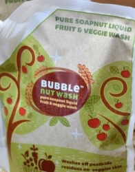 Pure Soapnut Liquid Fruit & Veggie Wash 750 Ml-Bubble Nut