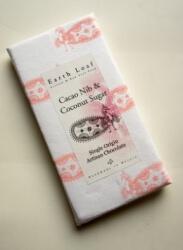 Cacao Nib & Coconut Sugar Chocolate Bar 72 Gms-Earth Loaf