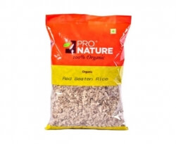 Red Beaten Rice 500 Gms- Pro Nature