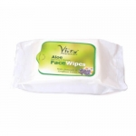Aloe Face Wipes 30 Tissues-Vitro Naturals