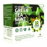 Green Tea  Mint 17 Bags -18 Herbs