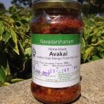 Mango Avakkai Pickle 400 Gms-Navadarshanam