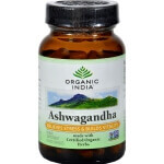 Ashwagandha 60 Capsules-Organic India