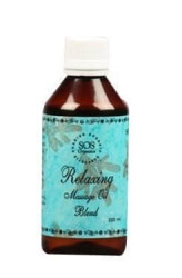 Relaxing Massage Oil 100 Ml-SOS Organics