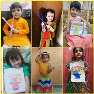 Pre School Colouring Activity