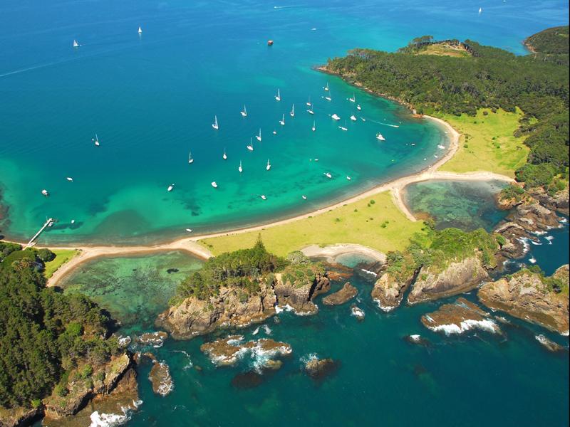 Bay of Islands, New Zealand  № 624895 загрузить