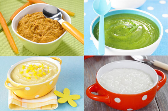 Transition to solid food - Feeding Guide