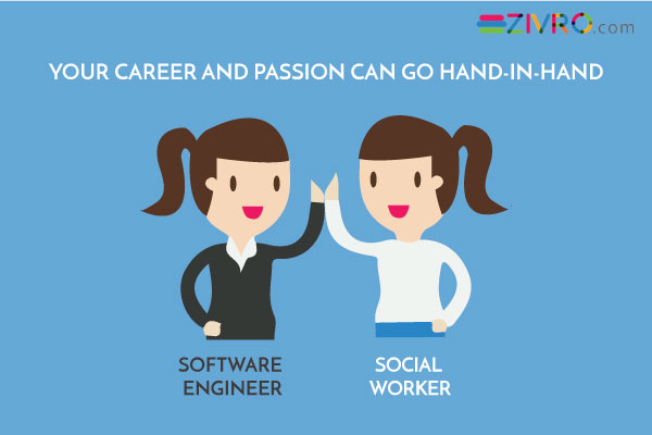 When CAREER and PASSION can go hand in hand
