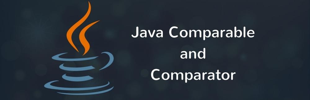 Comparable vs Comparator