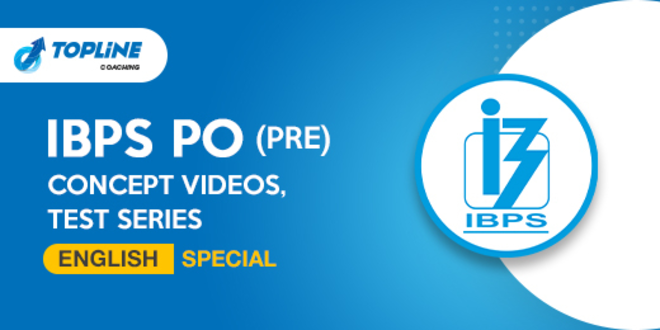 IBPS PO (PRE) English Special by Pooja Mam