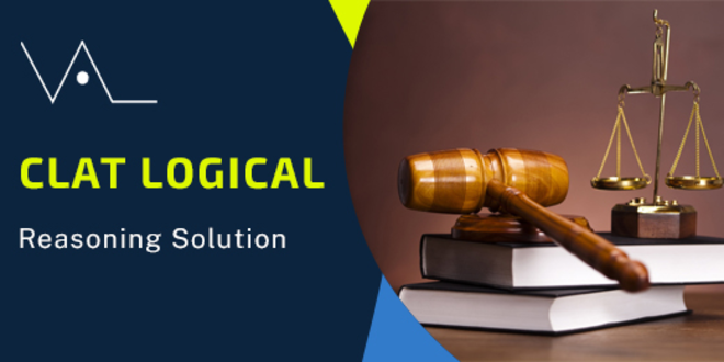 CLAT 2019 LOGICAL REASONING (detailed solution)