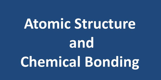 NOC: Chemistry: Atomic Structure and Chemical Bonding