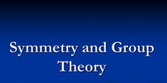 NOC: Symmetry and Group Theory