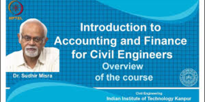 Introduction to Accounting and Finance for Civil Engineers