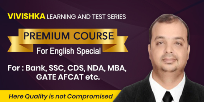 A Premium Course For English Special (All One Day Competitive  Exam)