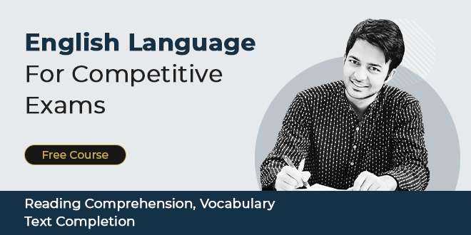 English Language for Competitive Exams (Video)