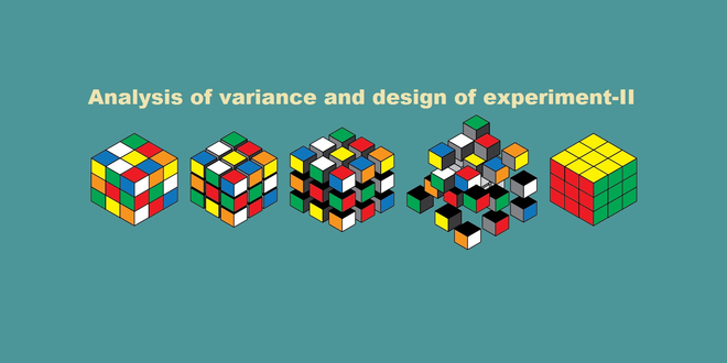 Analysis of variance and design of experiment-II