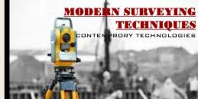 Modern Surveying Techniques