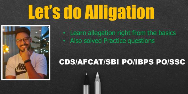 Let's do Alligation
