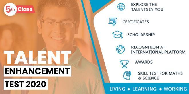 Talent Enhancement Skill Test- Class 5th