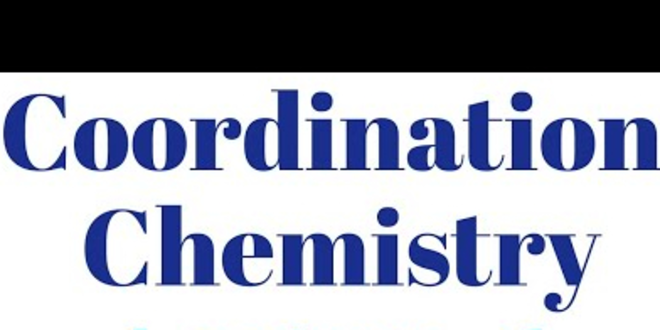 Selected Topics in Co-ordination Chemistry