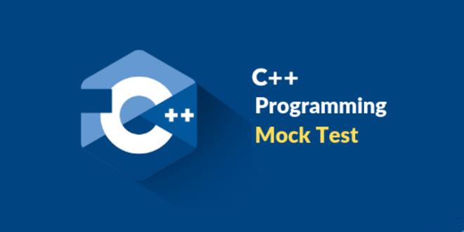 C++ Programming Online Mock Test Free