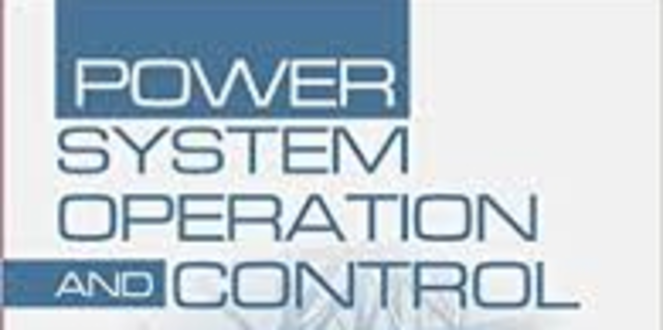Power Systems Operation and Control