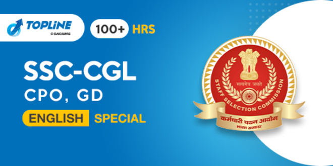 English Special Course for SSC CGL, CPO, GD