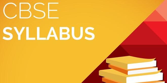 CBSE SYLLABUS CLASS 6