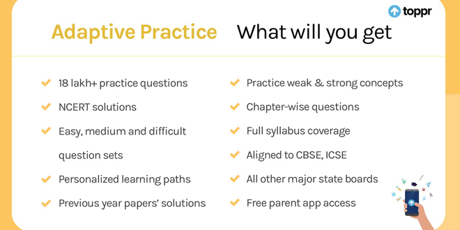 All Subjects | Class 5th to 12th | Online Videos and Practice Questions