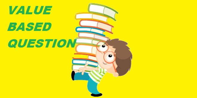 VALUE BASED QUESTIONS CLASS 8 ENGLISH MEDIUM