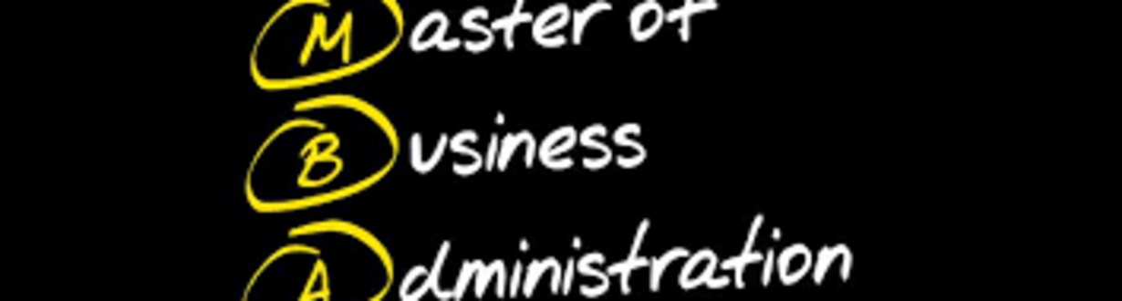 Master of Business Administration Cover image