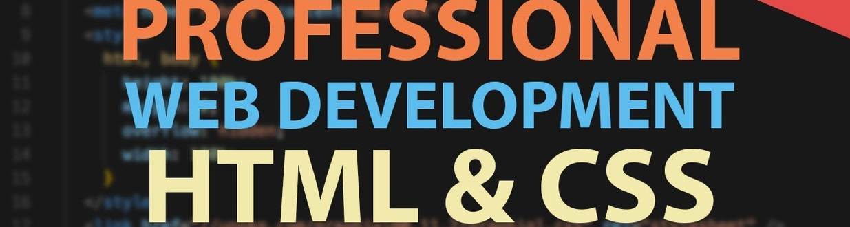 HTML and CSS Cover image
