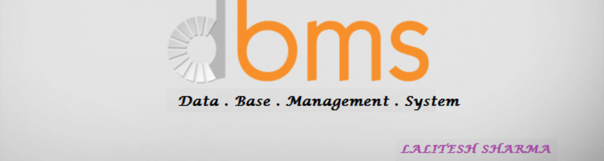 DBMS Cover image
