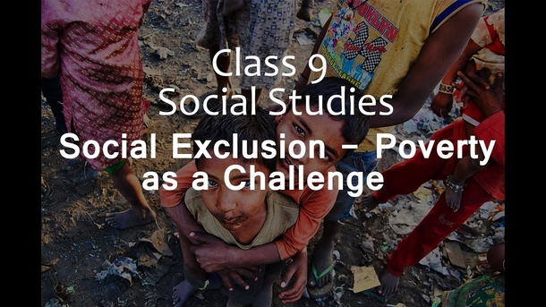 What is social exclusion? 1. According to the concept...