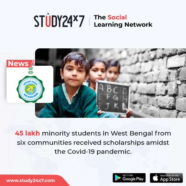 An official stated that at least 45 lakh students fro...