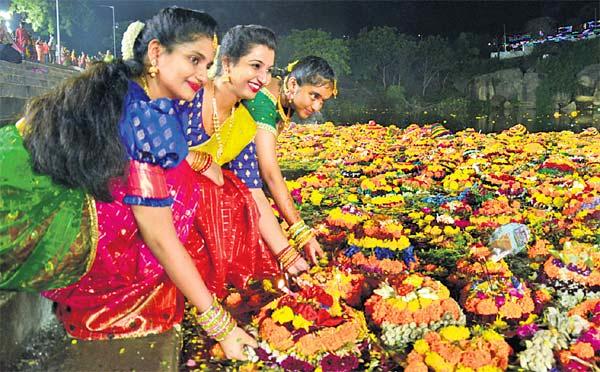 Bathukamma festival is celebrated predominantly in